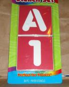 ArtSkills! - Stencil Set - 36 Paper Stencils - Letters & Number
