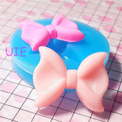 010LBF Bow Tie / Bowtie Silicone Mould - Jewellery, Charms, Cupcake