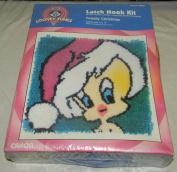 Looney Tunes Latch Hook Kit Tweety Christmas