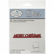 Elizabeth Craft Designs Merry Christmas Stand up Helper Die Cutting Machines