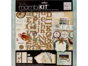 mambiKIT 30cm by 30cm Scrapbook Page Kit, Ocean