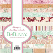 Bo Bunny Madeleine Paper Pad, 15cm by 15cm , 36-Pack