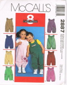 McCall's Infant Jumpsuits 2887