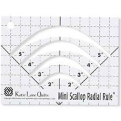 Mini Scallop Marking Ruler