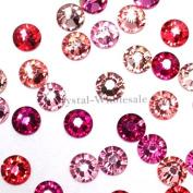 . 2058 SS20 (4.7mm) crystal flatbacks No-Hotfix rhinestones PINK Colours Mix