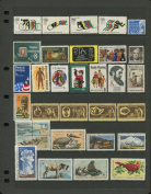 COMPLETE MINT SET OF POSTAGE STAMPS ISSUED IN THE YEAR 1972 BY THE U.S. POST OFFICE DEPT.