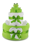 Bath time Frog baby toys neutral nappy cake baby gift FREE delivery