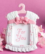 Cute baby themed photo frame favours - girl, 30