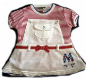 BABY GIRLS TENNIS DRESS STYLE TWO PIECE DRESS FROCK