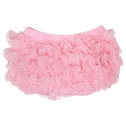 Light Pink Lace Nappy Cover Bloomer 0-6 Months Colour