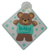 Baby / Child on Board Novelty Car Window Sign