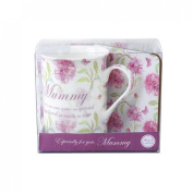 Veka Baby Products-Vintage Lane 'Mummy' China Mug & Coaster Gift Set
