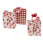 Veka Baby Products-Large Heart Design 2pk Gift Bags