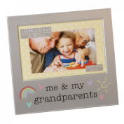 Veka Baby Products-Juliana Aluminium Photo Frame 15cm x 10cm - Me & My Grandparents