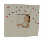 Baby Girl Hearts and Stars Photo Album Gift 200cm x 15cm x 10cm