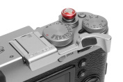 Fujifilm X100T Thumb Grip by Lensmate Silver