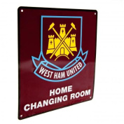 West Ham Changing Room Sign