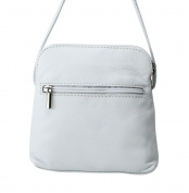 Real Italian Soft Leather White Cross Body Shoulder Bag Handbag