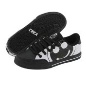 C1RCA Skateboarding Shoes ALK50BWSH Black / White / Super Happy - Circa Kids Shoes
