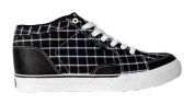 Circa Skateboard Woman Shoes Pusher Black / Black South Beach Plaid - C1rca Shoes