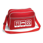 Eat Sleep Liverpool Football Supporter School Shoulder Bag