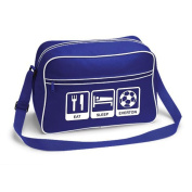 Eat Sleep Everton Football Supporter School Shoulder Bag