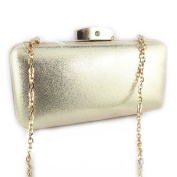 Pouch bag 'Kate'golden.