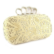 Pouch bag 'Sissi'beige.