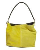 Girly HandBags New Genuine Suede Leather Handbag Shoulder Bag Tote Designer Elegant Women Collection