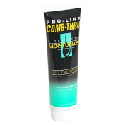 Pro-line Comb-thru Lite-creme Moisturiser, Hair and Scalp Conditioner for Men, 120ml Tubes