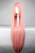 """Pink Wig - 100 cm Long - For Luka (""""Vocaloid"""") Cosplay"""
