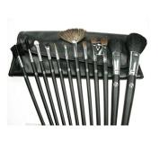 12 pcs Luxury Professional Brush Set with Black case [ARTUROLUDWIG]