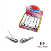"12 x BIG STAINLESS STEEL HAND TOE NAIL CUTTER CLIPPER TRIMMER ""Arrow"""
