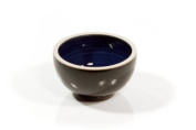 korium Shaving bowl Black 'n Blue mini - handmade ceramics
