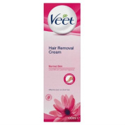 Veet Cream Hair Removal Normal Skin 100ml Case of 6