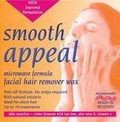 Smooth Appeal Microwave Formula Facial Wax x2