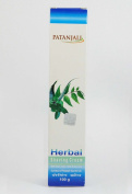 Patanjali Ayurvedic Herbal Shaving Cream With Neem, Tusli,Haldi & Aloe Vera 100gm