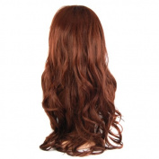 "Outdoortips 70cm / 28"" Fashion Ladies Long Wavy Curly Fancy Wigs Full Wig + Wig Cap"