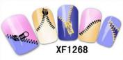 24 Legend Brand Nail Art ZIP Stickers *BUY 1 GET 1 FREE*