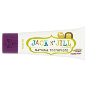 Jack N' Jill Blackcurrant Toothpaste Natural with Organic Flavouring 50g