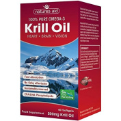 Natures Aid Superba Krill Oil 500mg (Omega 3) 60 per pack