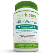 Hyperbiotics Pro-Women, Probiotics For Women With Cranberry Extract & 100% Naturally Occurring D-Mannose