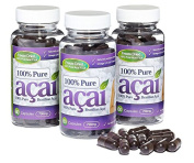 100% Pure Acai Berry 700mg No Fillers 90 Day Supply