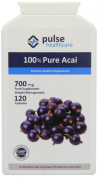 Pulse Healthcare 700mg Pure Acai Slimming Aid Premium Quality GMP Supplement - Pack of 120 Capsules