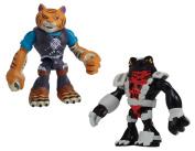 Teenage Mutant Ninja Turtles Tiger Claw and Neutralizer Half-Shell Heroes