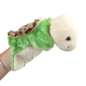 Homgaty Green Turtle Animal Hand Puppets The Perfect Birthday, Christmas Gift