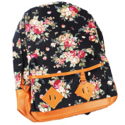 A-szcxtop Cute Flower bookbag Backpack For Women Girl
