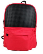Upixel Daysack 13 Red Black Backpack Rucksack With Free Pixels