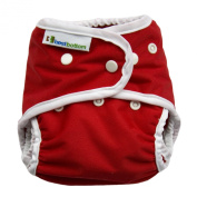 Best Bottom Cloth Nappies - Snap - Very Cherry