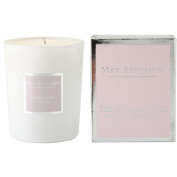 Max Benjamin French Linen Water Scented Glass Candle in Gift Box